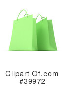 Royalty-Free (RF) Shopping Bag Clipart Illustration #39972