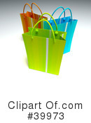 Royalty-Free (RF) Shopping Bag Clipart Illustration #39973