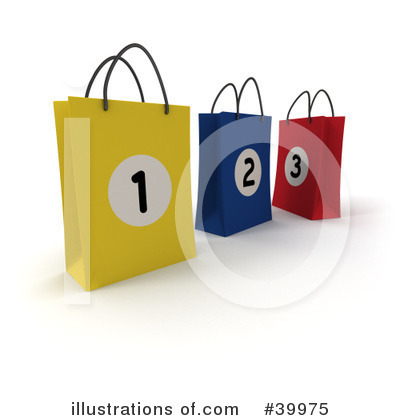 Shopping Bag Clipart #39975 by Frank Boston