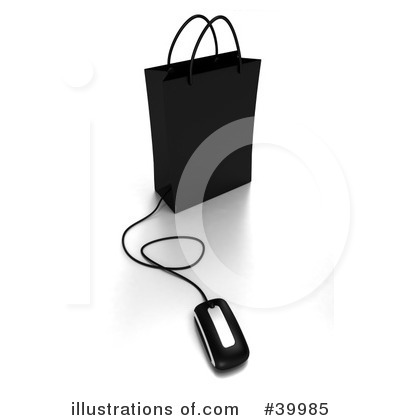 Computer Mouse Clipart #39985 by Frank Boston