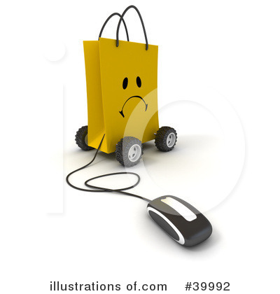 Computer Mouse Clipart #39992 by Frank Boston