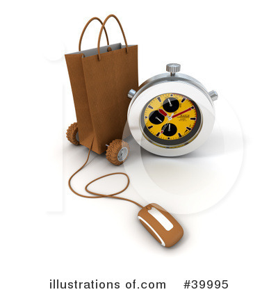 Computer Mouse Clipart #39995 by Frank Boston