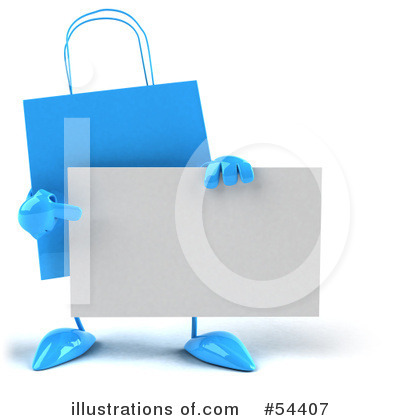 Shopping Bag Clipart #54407 by Julos