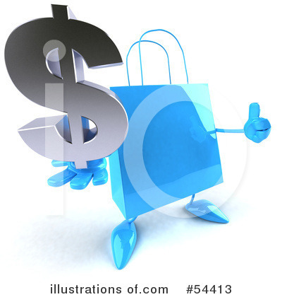 Shopping Bag Clipart #54413 by Julos