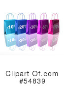 Shopping Bag Clipart #54839 by Julos