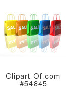 Shopping Bag Clipart #54845 by Julos