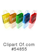 Shopping Bag Clipart #54855 by Julos
