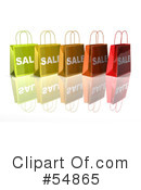 Shopping Bag Clipart #54865 by Julos