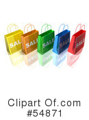 Shopping Bag Clipart #54871 by Julos