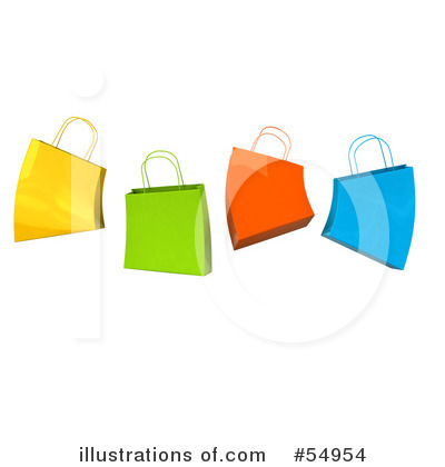 Shopping Bag Clipart #54954 by Julos