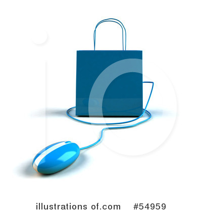 Shopping Bag Clipart #54959 by Julos