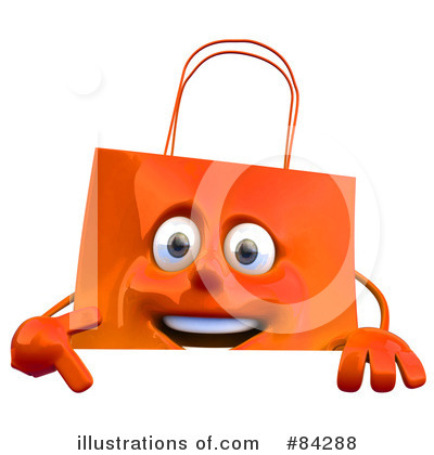 Shopping Bag Clipart #84288 by Julos