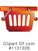 Shopping Basket Clipart #1131328 by Lal Perera