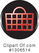 Shopping Basket Clipart #1306514 by Lal Perera