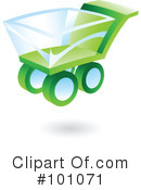 Royalty-Free (RF) Shopping Cart Clipart Illustration #101071