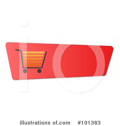 Shopping Cart Clipart #101383 by oboy