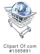 Shopping Cart Clipart #1065891 by AtStockIllustration