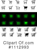 Shopping Cart Clipart #1112993 by dero