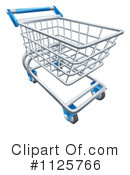 Royalty-Free (RF) Shopping Cart Clipart Illustration #1125766