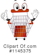 Royalty-Free (RF) Shopping Cart Clipart Illustration #1145375