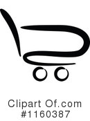 Shopping Cart Clipart #1160387 by Vector Tradition SM
