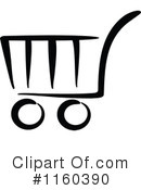 Shopping Cart Clipart #1160390 by Vector Tradition SM