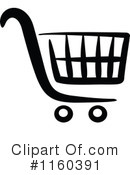 Royalty-Free (RF) Shopping Cart Clipart Illustration #1160391