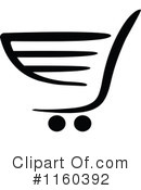 Shopping Cart Clipart #1160392 by Vector Tradition SM