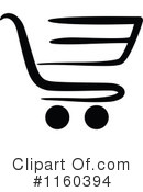 Shopping Cart Clipart #1160394 by Vector Tradition SM