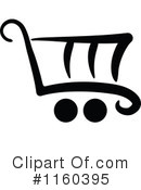 Shopping Cart Clipart #1160395 by Vector Tradition SM