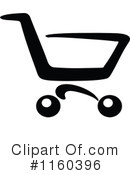 Shopping Cart Clipart #1160396 by Vector Tradition SM