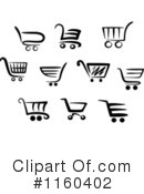Shopping Cart Clipart #1160402 by Vector Tradition SM