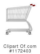 Shopping Cart Clipart #1172403 by vectorace