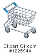 Royalty-Free (RF) Shopping Cart Clipart Illustration #1225944