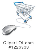 Shopping Cart Clipart #1226933 by AtStockIllustration