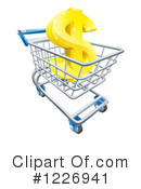 Shopping Cart Clipart #1226941 by AtStockIllustration