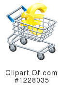 Shopping Cart Clipart #1228035 by AtStockIllustration