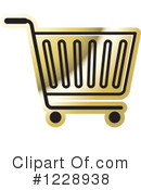 Shopping Cart Clipart #1228938 by Lal Perera