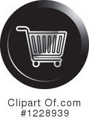 Shopping Cart Clipart #1228939 by Lal Perera