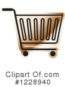 Shopping Cart Clipart #1228940 by Lal Perera