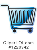 Shopping Cart Clipart #1228942 by Lal Perera