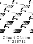 Shopping Cart Clipart #1238712 by Vector Tradition SM