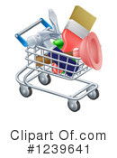 Shopping Cart Clipart #1239641