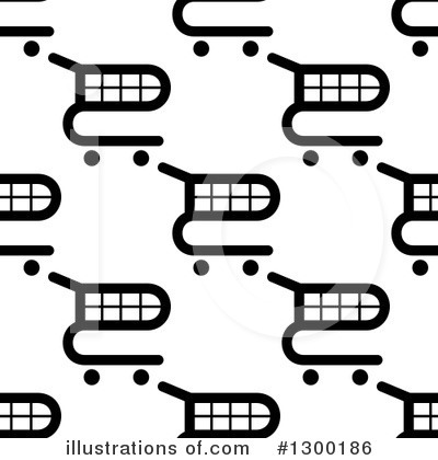 Shopping Cart Clipart #1300186 by Vector Tradition SM