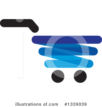 Shopping Cart Clipart #1339039 by ColorMagic