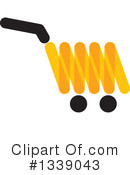 Shopping Cart Clipart #1339043 by ColorMagic