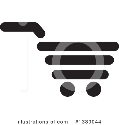 Shopping Cart Clipart #1339044 by ColorMagic
