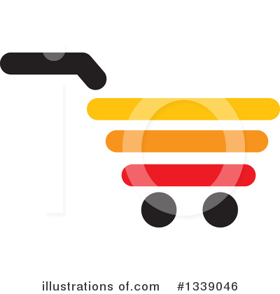 Shopping Cart Clipart #1339046 by ColorMagic