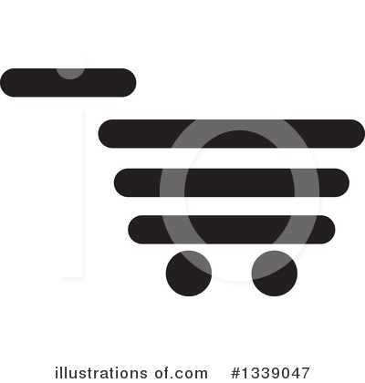 Shopping Cart Clipart #1339047 by ColorMagic