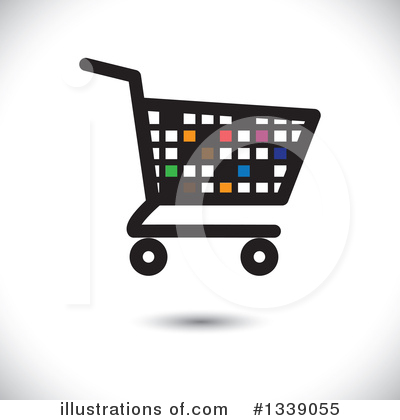 Shopping Cart Clipart #1339055 by ColorMagic